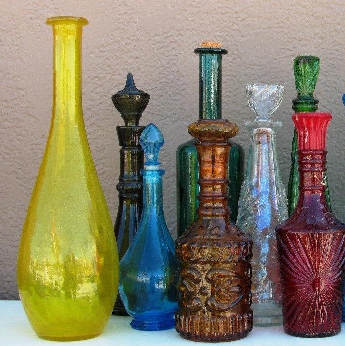 87 best decanter images on pinterest decanter carafe for Liquor bottle vases