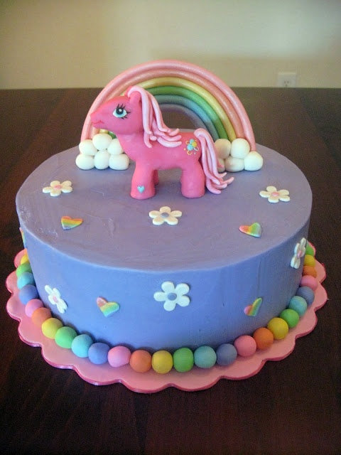My Little Pony Cake. I have already been told that this is what she wants for her next birthday