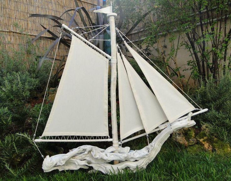 Bois flottes pinterest bateaux bois for Bateau bois flotte