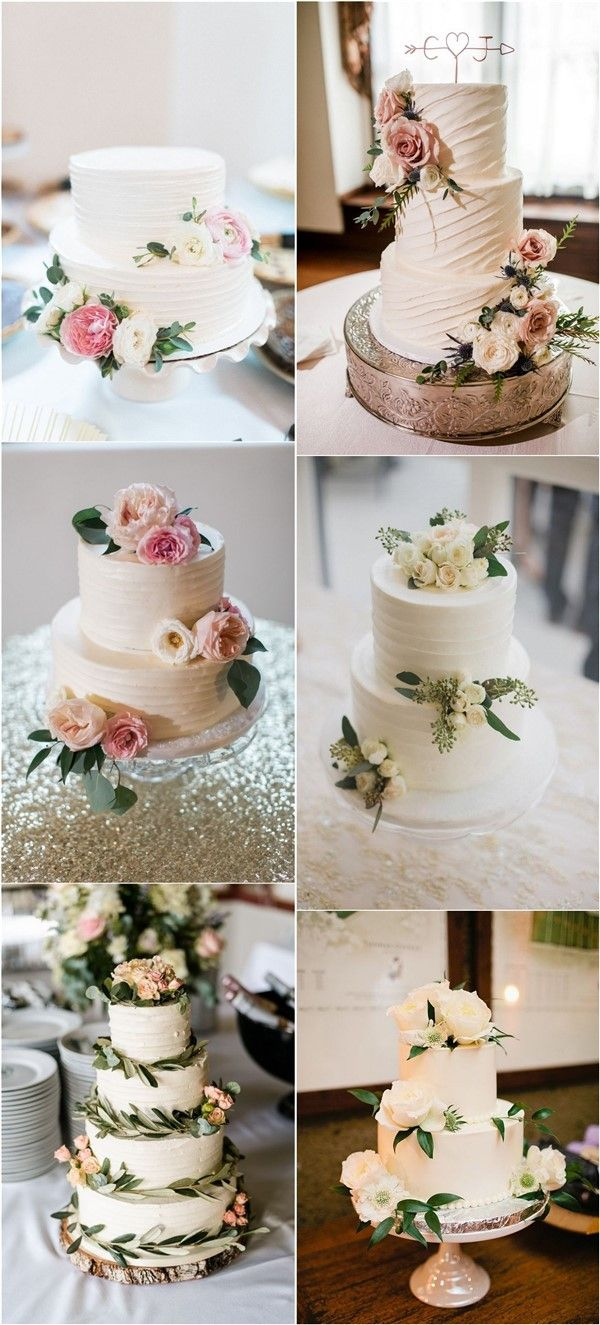 20 Budget Friendly Simple Wedding Cakes For 2020 In 2020 Simple Wedding Cake Wedding Cake Designs Simple Elegant Wedding Cakes