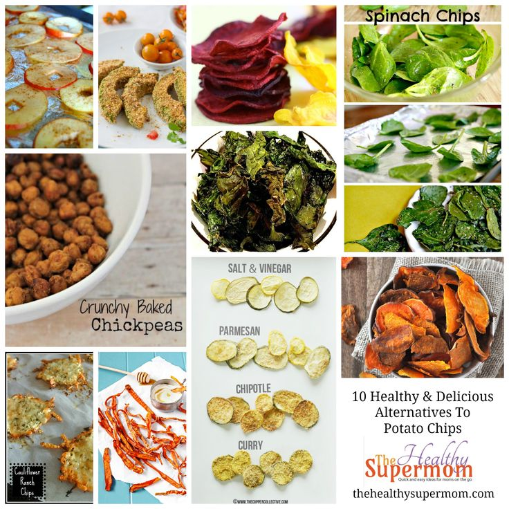 Healthy Supermom Chip Alternatives