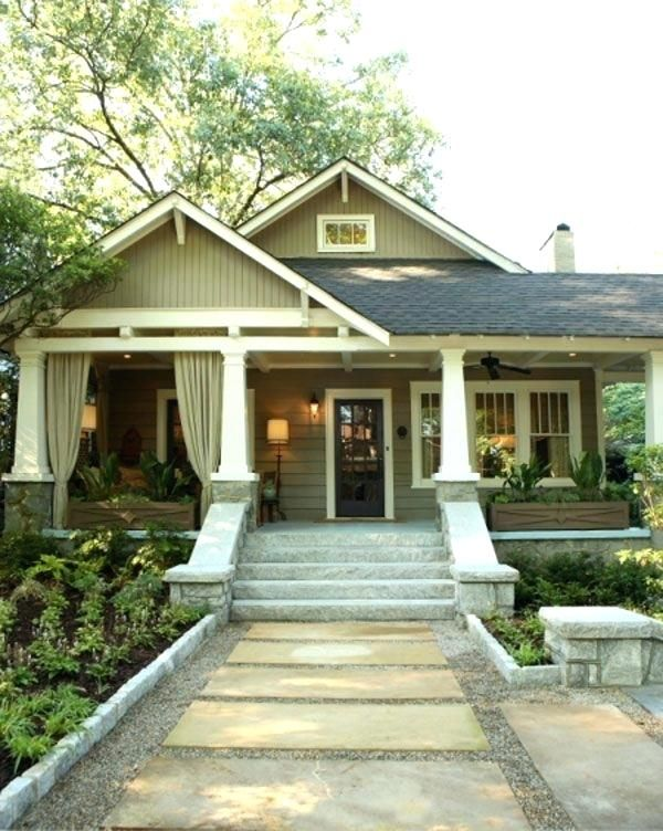 Craftsman Front Porch Ideas Craftsman Style Bungalow With Amazing