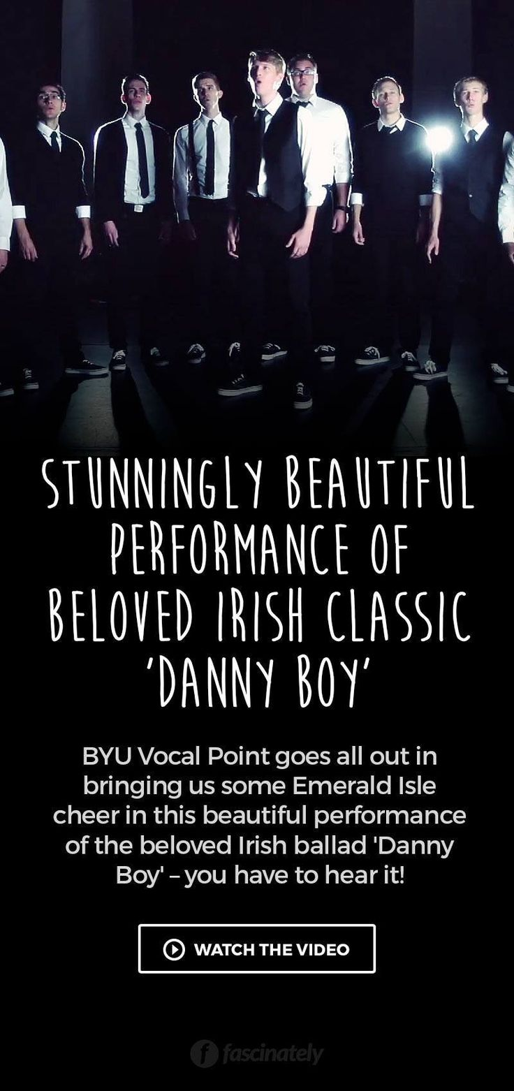 Stunningly Beautiful Performance Of Beloved Irish Classic Danny Boy Music Videos Songs Ballad