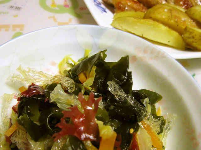 ミネラルたっぷり♪海藻サラダ♪の画像