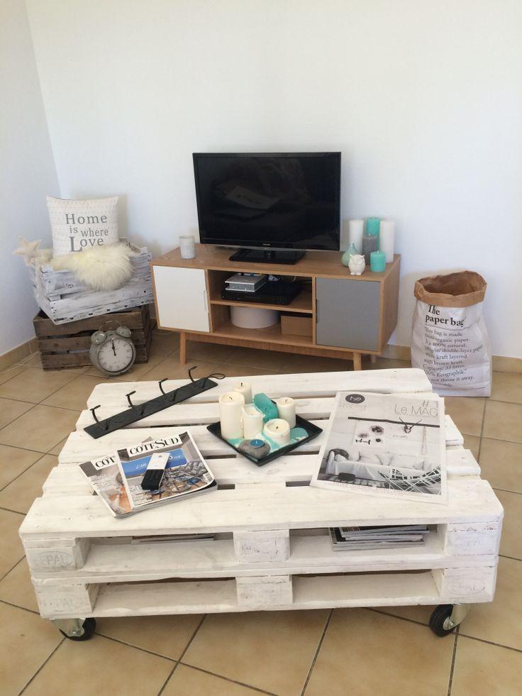 Les meubles en palettes ont la côte dans l'univers de la décoration d'intérieur. Ils donnent une touche de modernité. Si vous me suivez sur Instagram, vous aurez remarqué que dans mon i…