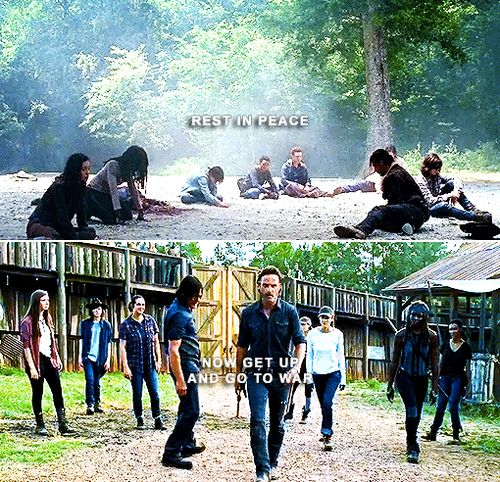 """""""Rest In Peace, Now Get Up and Go To War""""  We tell ourselves We Are The Walking Dead"""