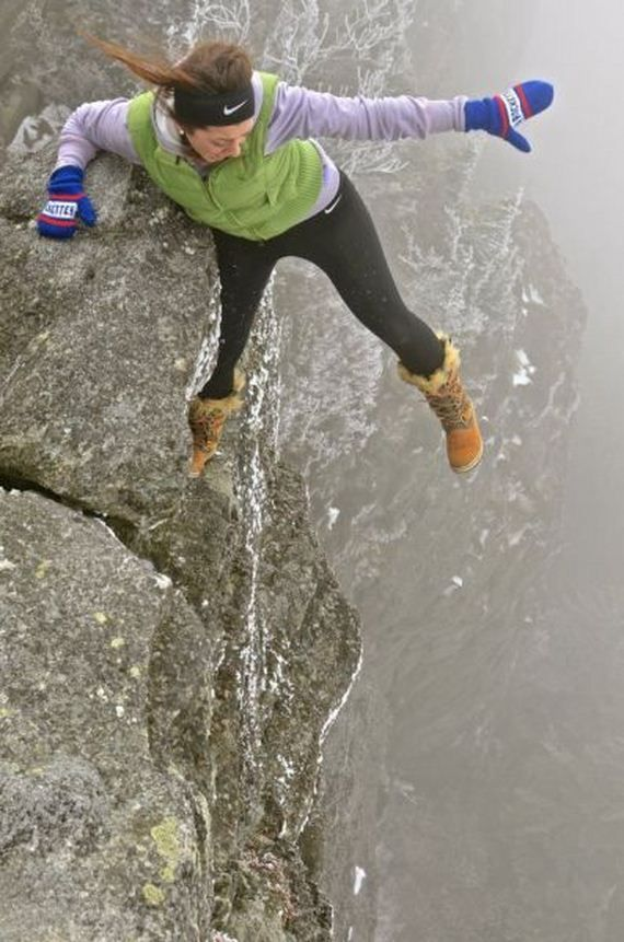 afraid of heights? Don't look.