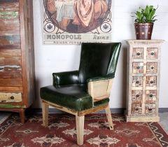Кожаное кресло Мягкая мебель