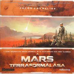 A Mars Terraformálása (Terraforming Mars) társasjáték - Szellemlovas társasjáték webshop