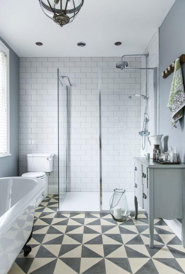 Boutique hotels provide inspiration for vintage bathroom makeover