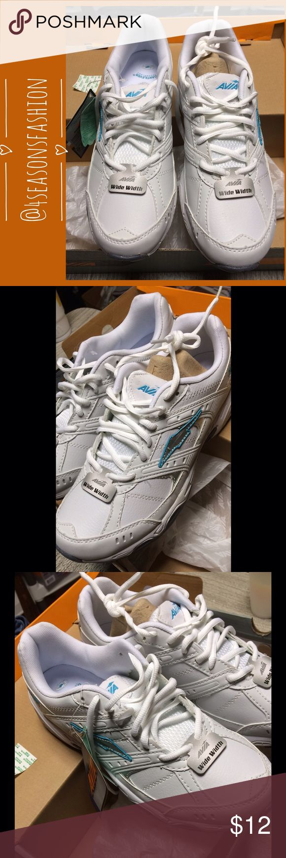 🎉 BRAND NEW LISTING 🎉 AVIVA WHITE WALKING SHOE. BRAND NEW. SHIPS WITH NO BOX. Any questions please ask before you buy. Thank you. Avia Shoes Athletic Shoes