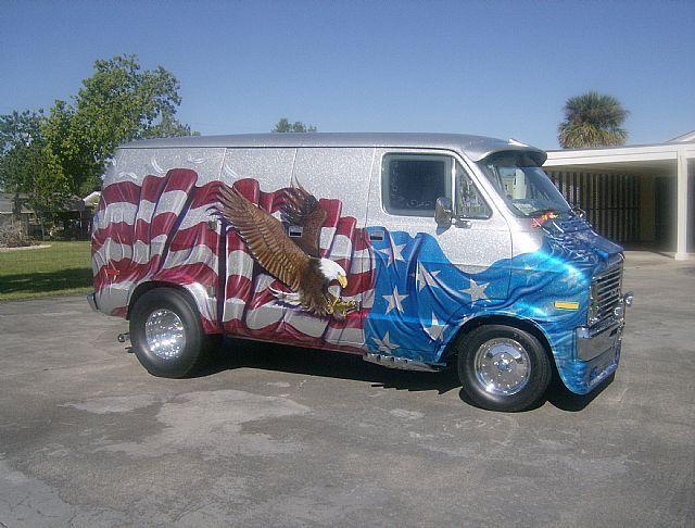 1972 Dodge Van Short Wheel Base For Sale In Stuart Florida Blue American Eagles 392 Hemi