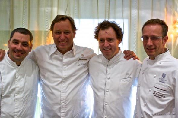 The Neue Deutsche Schule of German Chefs: Christian Bau, Thomas Bühner, Sven Elverfeld and Nils Henkel.: Chefs De, German Chef, Grandi Chef, Grands Chefs, Christian Bau, Restaurant, Chef Stellati