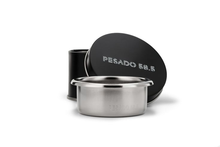 PESADO has worked closely with IMS to create a basket with a strong focus on precision and consistency. When used with the PESADO 58.5 Tamper, this basket extracts flawlessly with even and unrestricted flow.  The Difference: PESADO baskets have an increased number of funnel shaped holes covering the extraction surface right to the edge. These baskets are finished with electro-polishing, reducing friction and ensuring the smoothest finish possible.