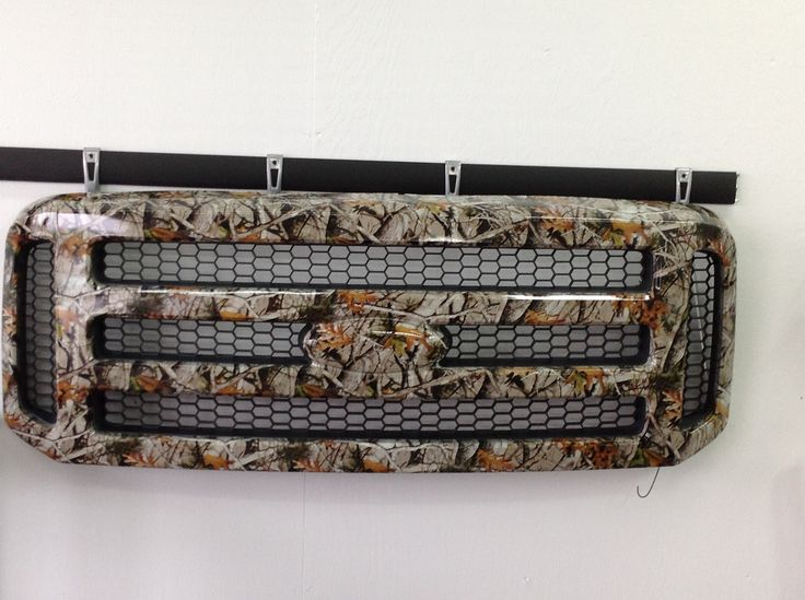 Ford Bumper Hydro Dipped Hydrographics Customcars Camo