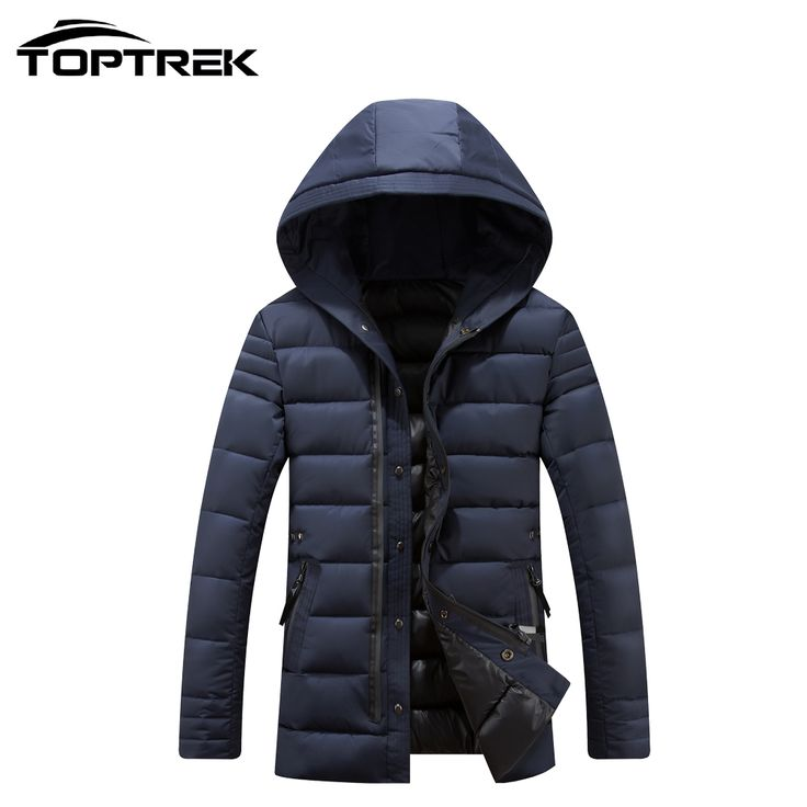 48.30$  Watch here - http://alifq6.worldwells.pw/go.php?t=32694016480 - Toptrek Men Casual Winter Jacket and Coat With Hoody Cotton Filling Campera Hombre Invierno Male Ceket Casaco Masculino 2016 48.30$