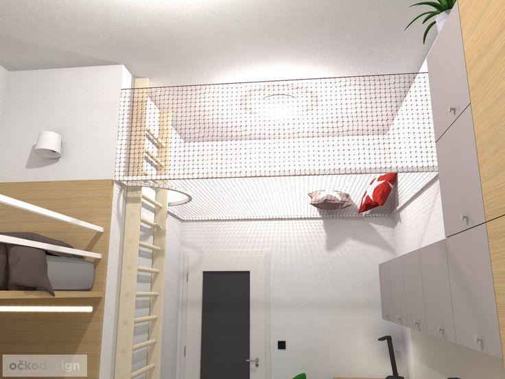 originální dětský pokoj, pro dvě děti, 3D návrhy interiérů, jak zařídit dětský…