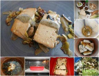 Receta de tofu marinado con verduritas al horno   Roast marinated tofu with vegetables   La cocina alternativa