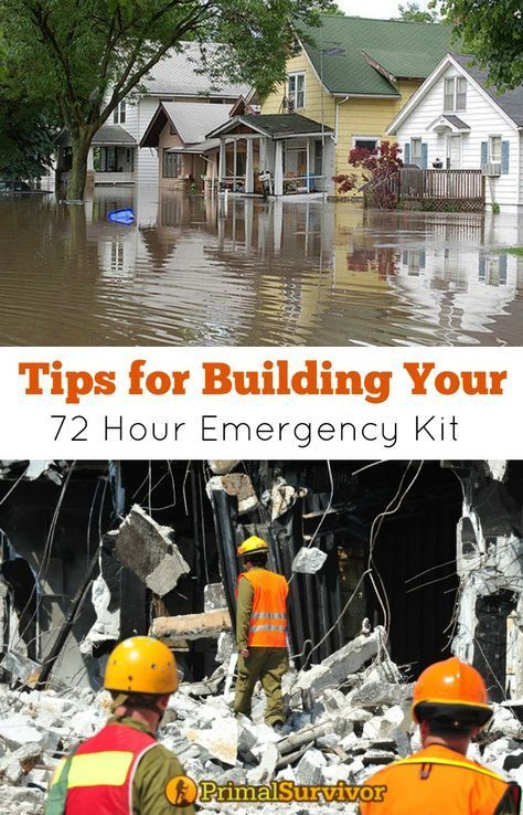 One of the first disaster preparedness steps is to build a 72-hour emergency kit. A 72-hour emergency kit contains everything you need to survive the immediate after effects of a natural disaster, power outage or other shtf situation. We take you through how to build and store your kit with our essential checklist. #emergencypreparedness #survival #gear #kit #72 hour #checklist #howtobuild #ideas #tips