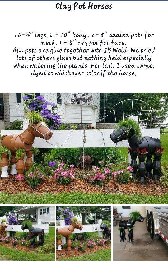 Clay Pot Horses p1
