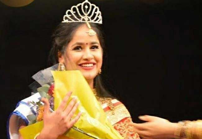 Telugu Women Wins Miss India South Africa Her dance performance reflecting the various stages of her life for three minutes made her win in the final round.