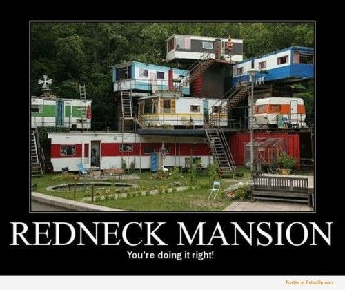 Gusset Its Like A Trailer Park Tree House Or Mansion