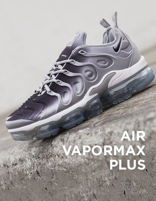 94f616a2f34a6 Nike Air Vapormax Plus  Grey