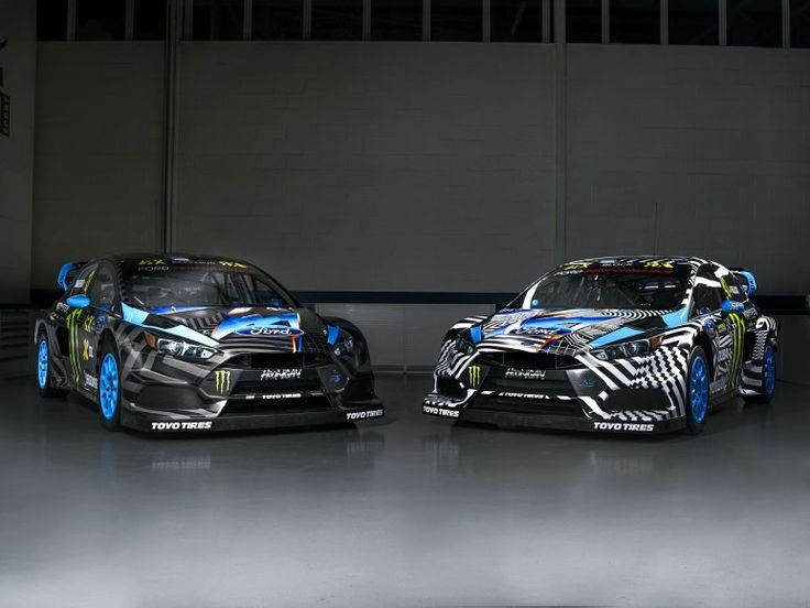 Ken Blocks 2016 Ford Focus RS RX