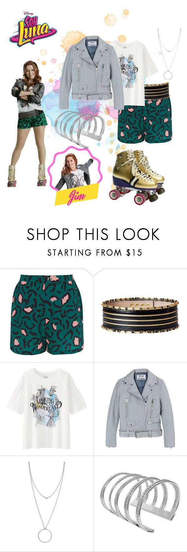"""""""soy luna"""" by maria-look on Polyvore featuring Libertine-Libertine, Balmain, Uniqlo, Acne Studios and Botkier"""