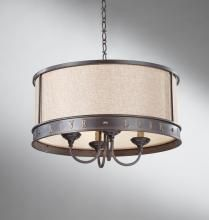 51 best pendant lighting images on pinterest pendant lamp feiss four light bronze drum shade chandelier live love laugh lighting collection mozeypictures Choice Image