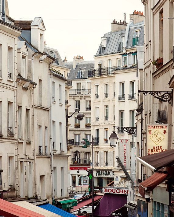 Rue Mouffetard Paris Photography Shops and by EyePoetryPhotography