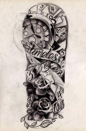 Designs Black And Grey Half Sleeve Tattoo Custom Tattoos by João Santos