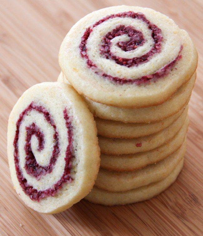 Kekse mit Swirl