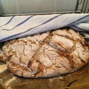 Segt och knaprigt kalljäst bröd!