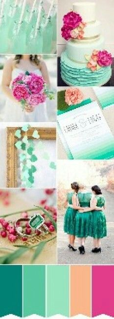 Paleta de cores - Casamento
