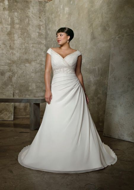 Cute full figures wedding gowns For more wedding dresses for full figured plus