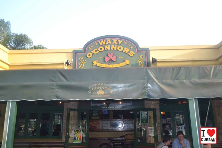 Durban's Best burger - Waxy O'Connors