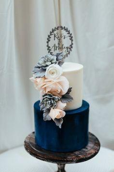 Marineblau ist das Hochzeits-Farbschema, das Sie nie bereuen werden   – Wedding Center Piece and Table Setting