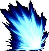 Resultado de imagem para aura azul png