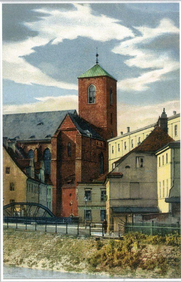 Zdjęcie numer 2 w galerii - Wrocław sprzed stu lat na pocztówkach Maxa Leipelta. Wiele z tych miejsc już nie istnieje [FOTO]