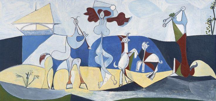 10-La joie de vivre (1946) fibrociment sur ripolin, 120x250, 1946, Antibes, musée Picasso