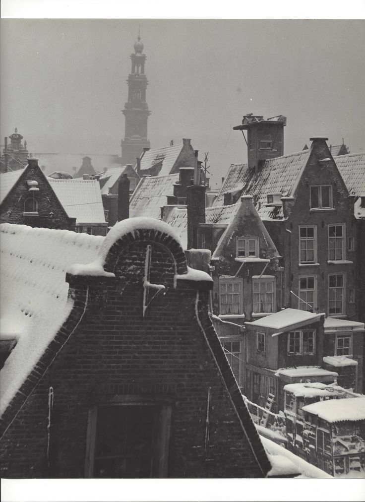 """ Westertoren, Jordaan "" Amsterdam about 1955. photo: Kees Scherer"