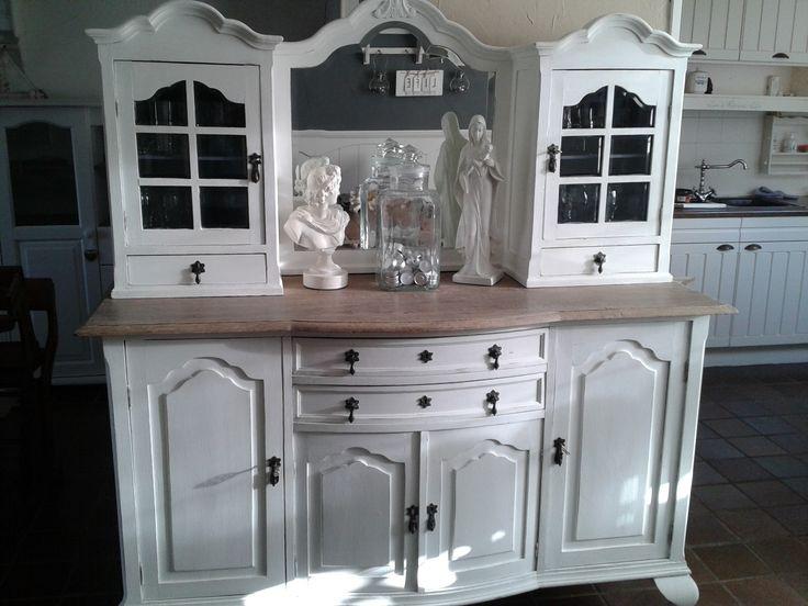 Meer dan 1000 idee u00ebn over Opgeknapte Meubels op Pinterest   Hergebruikte meubels, Afgewerkt