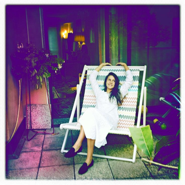 CB around the world, Giovanna Battaglia in New York !
