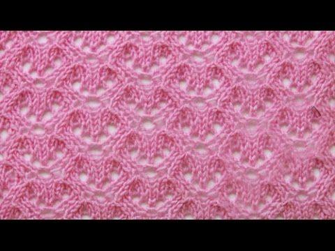 Knitting flowers_ Узор Цветы