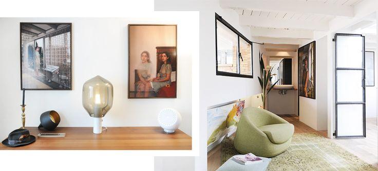 Interieurarchitect Jeroen van Zwetselaar toverde zijn appartement in Utrecht om tot een uniek penthouse.
