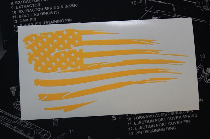 American Flag Tattered Stencil My Style Stencils Flag