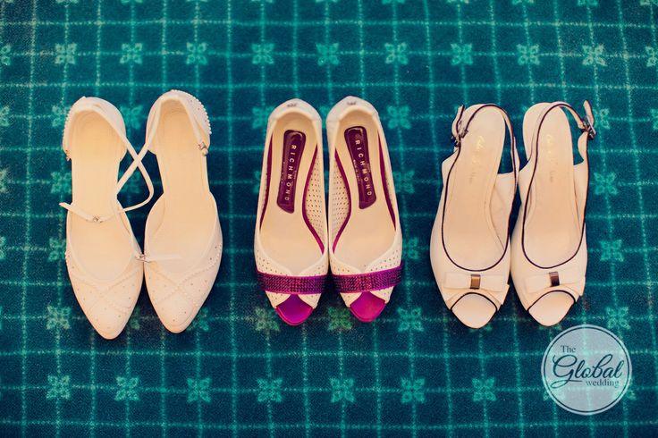 Свадебные туфли. Wedding shoes