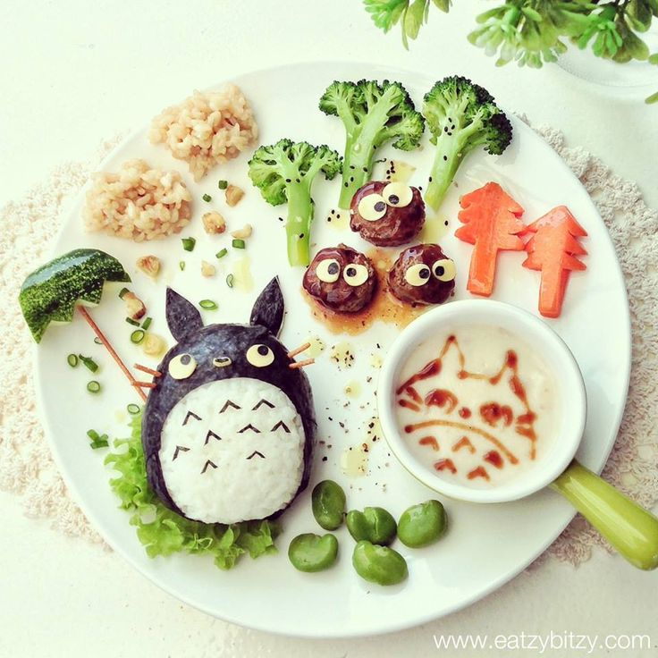 My Neighbour Totoro by Lee Samantha | Fun Food ideas for ...