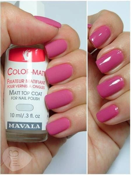 Matte it out with Mavala